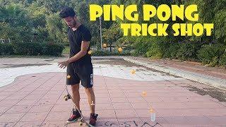 Türkiyede ilklerden Ping Pong Trick Shots ( Dude Perfect )