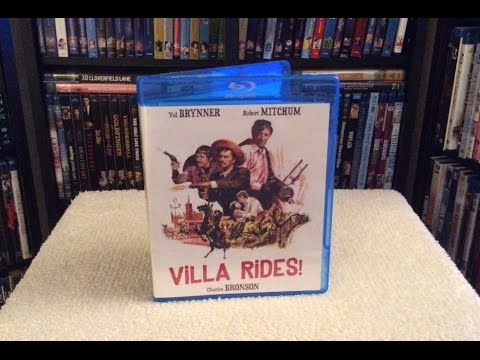 Villa Rides! BLU RAY UNBOXING and Review - Robert Mitchum