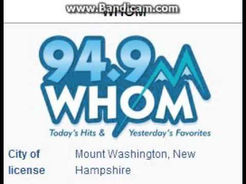 """25 Days of Christmas Radio - Day 24: WHOM-FM: """"94.9 HOM"""" Mt. Washington, NH TOTH ID 4pm ET--12/24/15"""