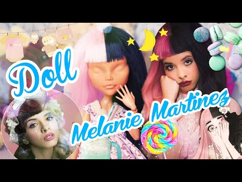 Repaint Melanie Martinez DOLL OOAK MONSTER HIGH How to make an OOAK