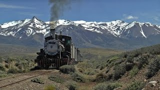 Argentina, travelling on the Patagonian express
