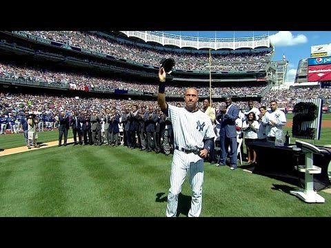 KC@NYY: A look at the full Derek Jeter Day ceremony