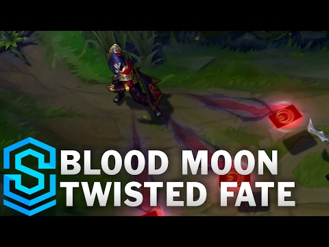 Blood Moon Twisted Fate Skin Spotlight - League of Legends
