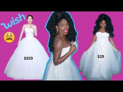 Wish | I Bought My Wedding Dress From Wish?