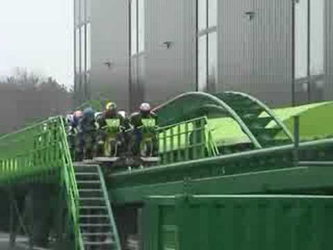 Motorcycle roller coaster