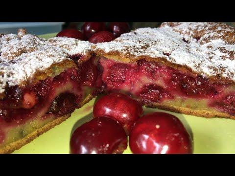 Быстрый вишневый Десерт. Французский клафути с вишней.