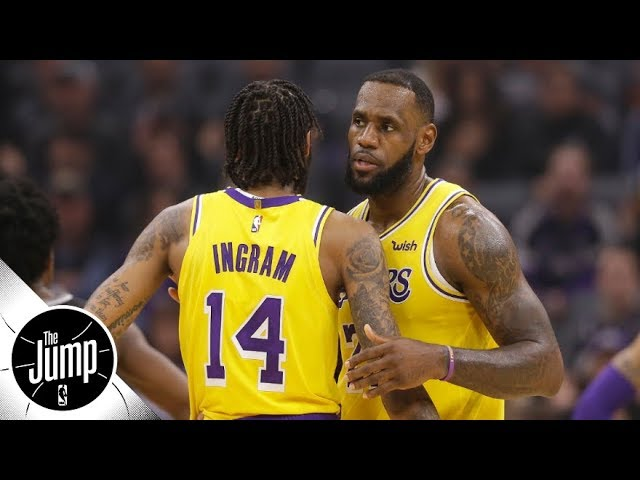 LeBron James and Brandon Ingram don't play well together, stats show   The Jump