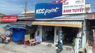 Ho Chi Minh City, Vietnam - Bus Ride to Tay Ninh (Cao Dai Church Spotting)