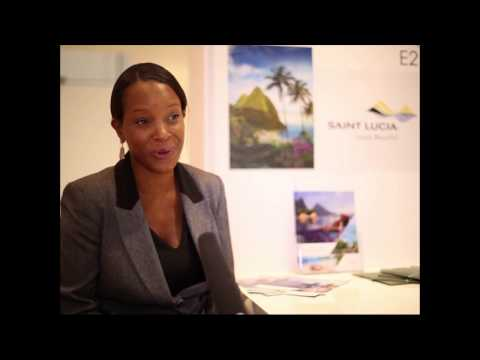 Atlyn Forde, director of marketing - Europe, St Lucia Tourist Board