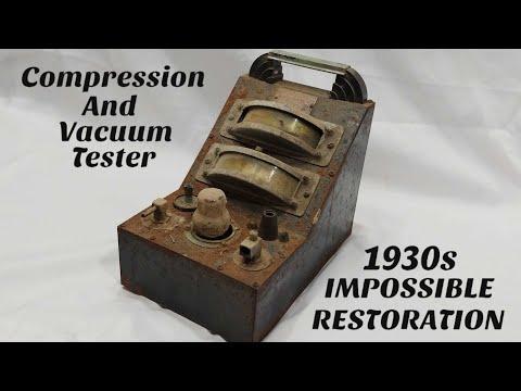Download 1930s Engine Tester Restoration  IMPOSSIBLE Restoration  Joseph Weidenhoff Mp4 baru