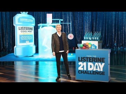 A Live Commercial for Listerine