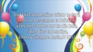 Un Feliz Cumpleaños Cristo Te Dara│Con Letra