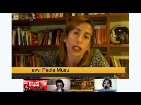 Lun 19 Nov. Speciale con Paola Musu. Inizio ore 19.00