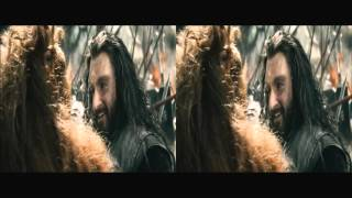 The Hobbit: The Battle of the Five Armies in 3D HD 1080 (movie trailer)(b)