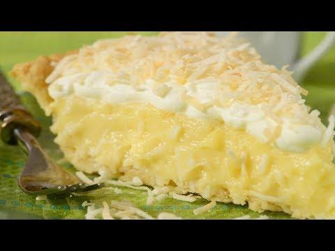 Coconut Cream Pie Recipe Demonstration - Joyofbaking video