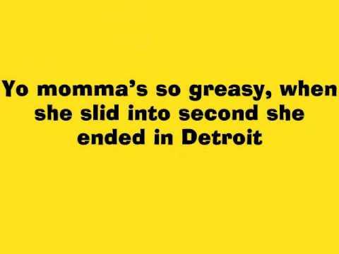 Funny yo momma so greasy jokes youtube