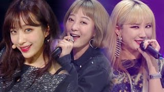《SEXY》 EXID - Night Rather than Day (낮보다는 밤) @인기가요 Inkigayo 20170430