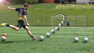 EPIC SOCCER BATTLE - freekickerz vs PRO Goalkeeper