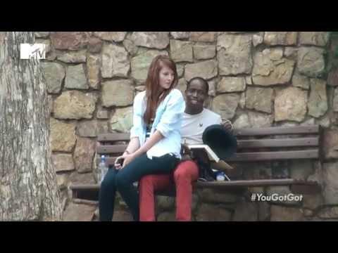 Girl Sitting on Guys: MTV's #YouGotGot