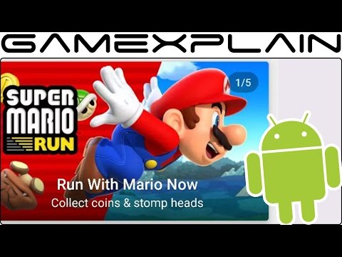 Super Mario Run is Out Now on Android A Day Early!