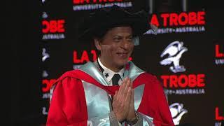 Shah Rukh Khan honoured at La Trobe University