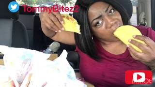 CRUNCHY TACO TUESDAY | NO NAPKIN CHALLENGE | MY FIRST JOB - BURGER KING