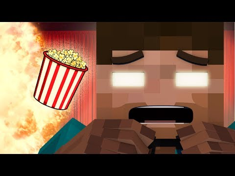 If Herobrine went to the Movies - Minecraft