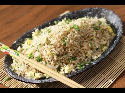 Egg Fried Rice | Sanjeev Kapoor Khazana