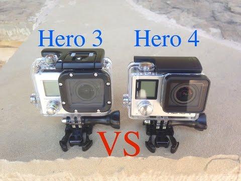 GoPro Hero4 Black Edition vs GoPro Hero3 Black Edition Slow Motion Testing