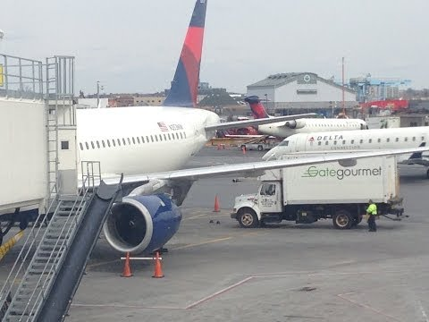 Delta Airlines Airbus A320 Flight 1779 Full Flight* LGA-FLL