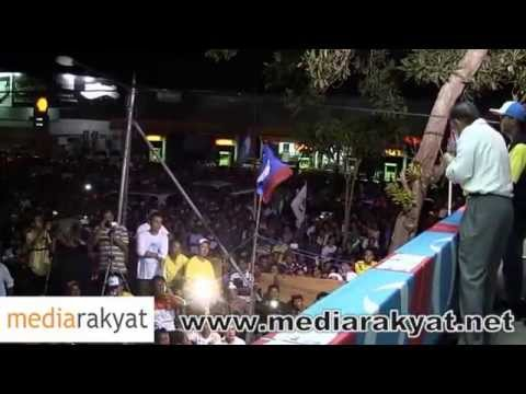 New) Anwar Ibrahim: Ceramah Perdana Di Tawau, Sabah video