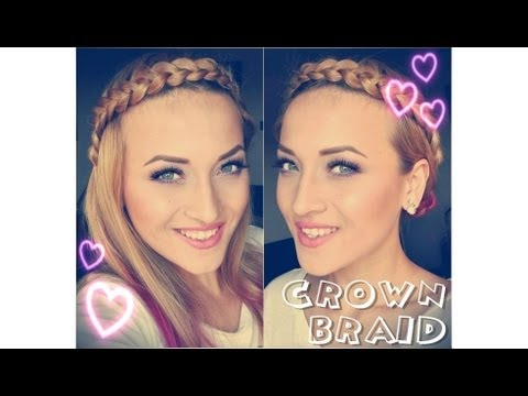 Crown braid / Impletitura stil