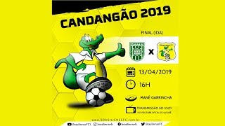 CANDANGÃO 2019 - Final (IDA) - Gama x Brasiliense - AO VIVO