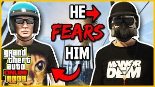 Noob on GTA Online is Actually A Savage (Tryhards FEAR Him)