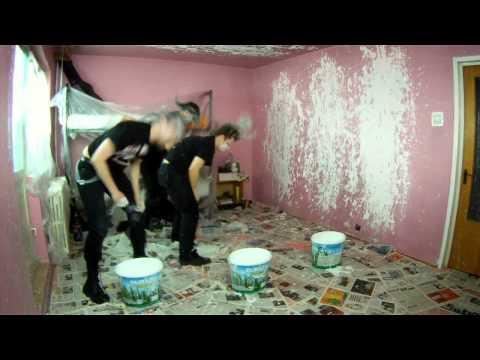 Musica - Pintando paredes con el pelo