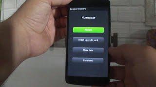 Hard Reset Lenovo Vibe A7010 [Formatação]