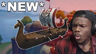 REASE REACTS: SEASON 5 FORTNITE! THEY ADDED CARS!!