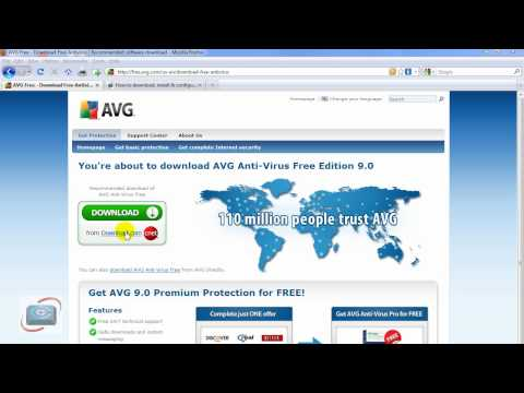 How to download the FULL installation file for AVG Free