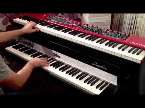 Nord Stage 2 VS Rhodes Mark