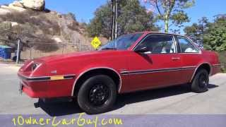 Buick Skyhawk Sky Hawk  J Body GM Custom Coupe Cimarron Cavalier Exterior Walkaround & Review #1