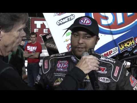 Williams Grove World of Outlaws Victory Lane 5-17-13