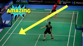 Top 20 UNPREDICTABLE Badminton Backhand SMASH
