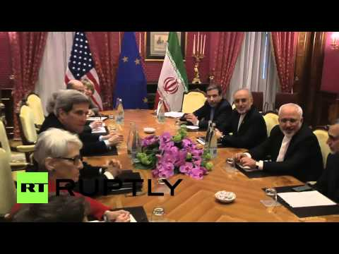 Switzerland: US and Iran meet for nuclear talks ahead of crunch discussions