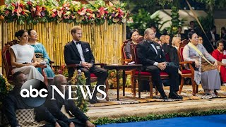 Meghan and Harry head to Tonga