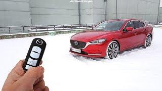 Mazda 6 2.5 194 hp Skyactiv-G TEST POV Drive & Walkaround