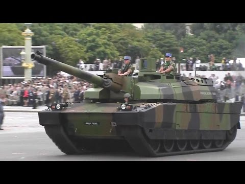 French Ministry Of Defense - Bastille Day Parade 2014 : Full Army Segment [720p]