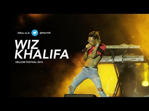 Wiz Khalifa - Hellow Festival 2015