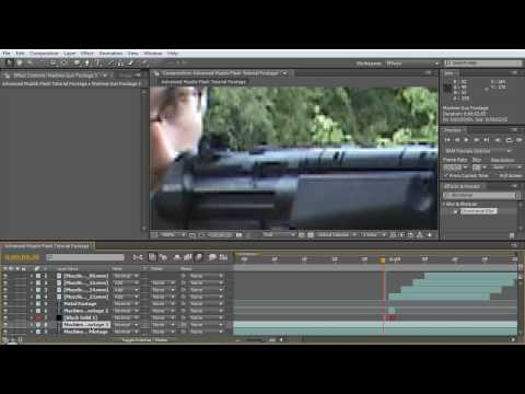 Advanced Muzzle Flash Tutorial - After Effects