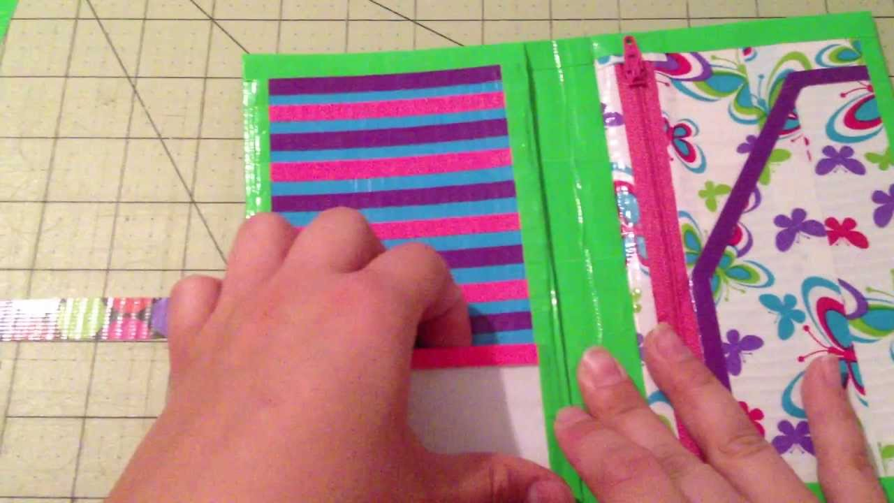 Crafts With Duct Tape Youtube