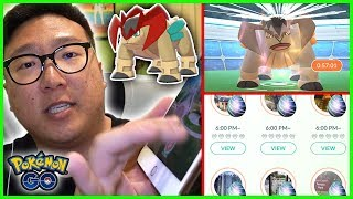 THIS WAY OF RAIDING IS JUST TOO CRAZY, TERRAKION RAID HOUR - Pokemon GO